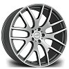 RV117 Riviera Alloy Wheels - Matt Gunmetal Machined